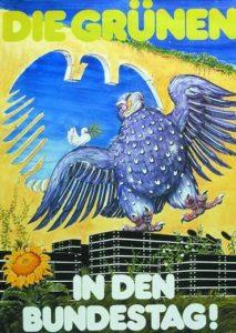 Plakat zur Bundestagswahl 1983 Die Grünen